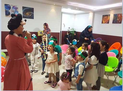 کوچولوهای مهرآفرین در جشن روز جهانی کودک
