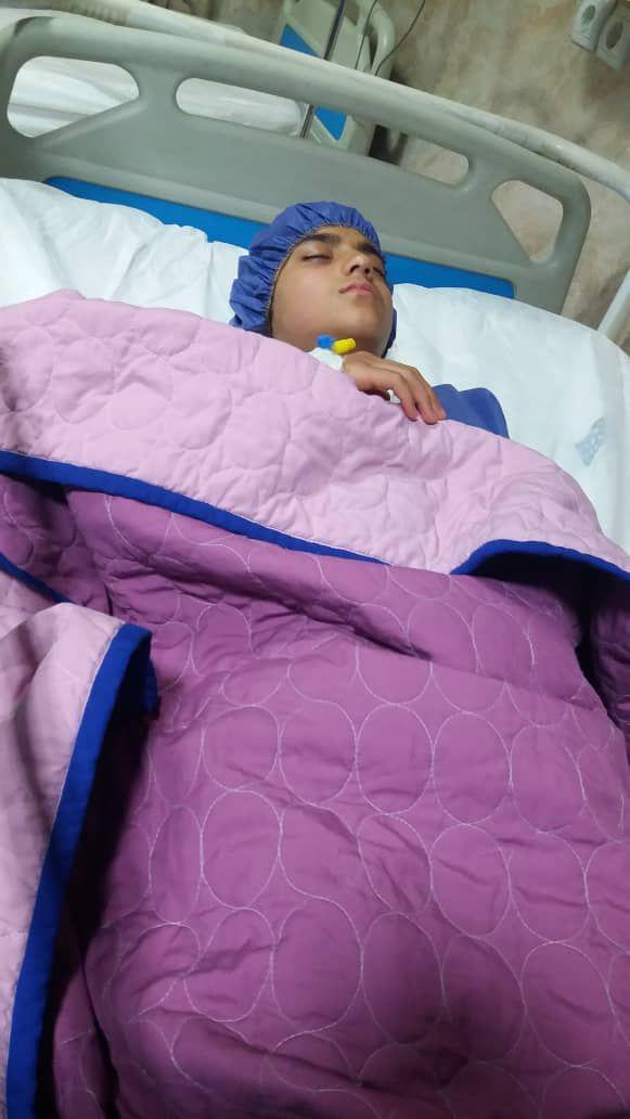 حال چشمهای سیما خوب است/ جراحی دختر ۱۲ ساله به کمک یاوران
