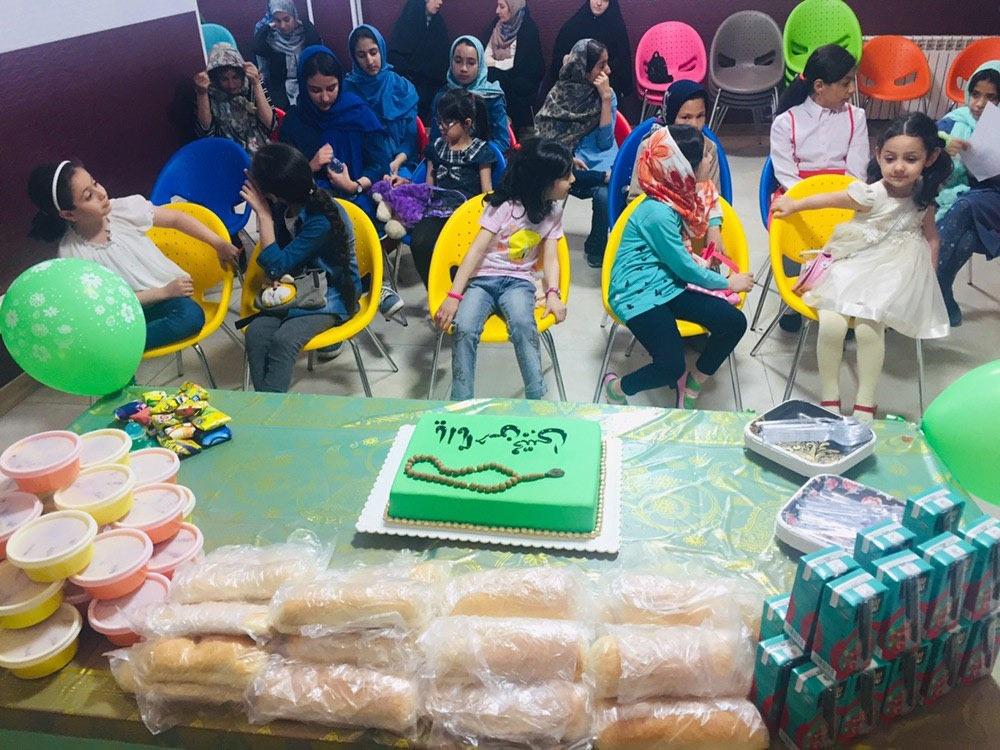 جشن تولد دختران مهرآفرین همزمان با میلاد امام حسن(ع)