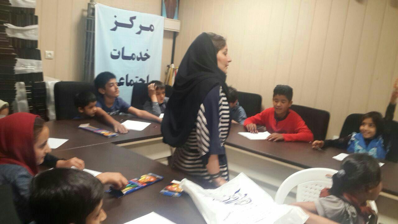 برگزاری کلاس آموزشی ،مهارت فرزند پروری در کانون جوانان مهرآفرین