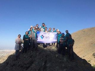 اولین صعود گروه کوهنوردی مهرآفرین