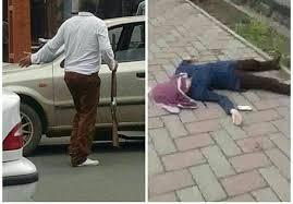 قتل دختر جوان توسط پدرش در خیابان