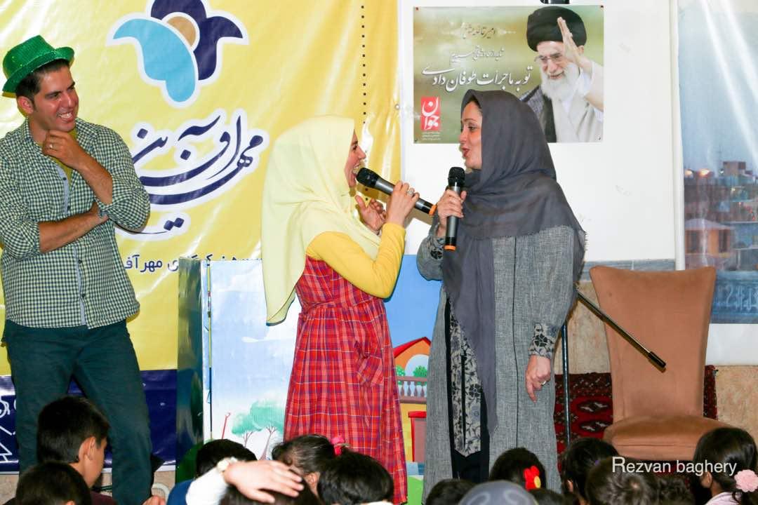 جشن افطاری بزرگ مهرآفرین با حضور کودکان